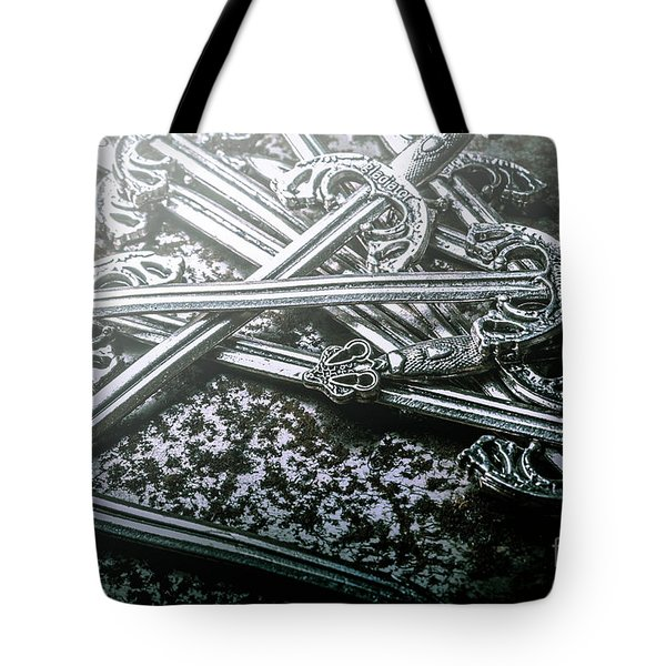 Distortions From Fables Conquered Tote Bag