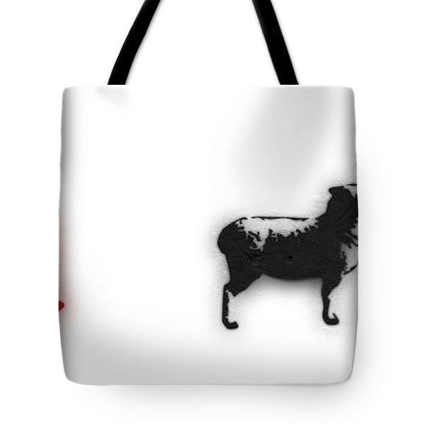 Distraction  Tote Bag by Pixel Chimp and Dave Merrill