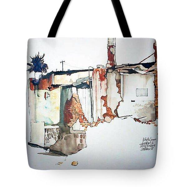 District 6 No 3 Tote Bag by Tim Johnson