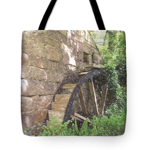 Disused Water Wheel Tote Bag