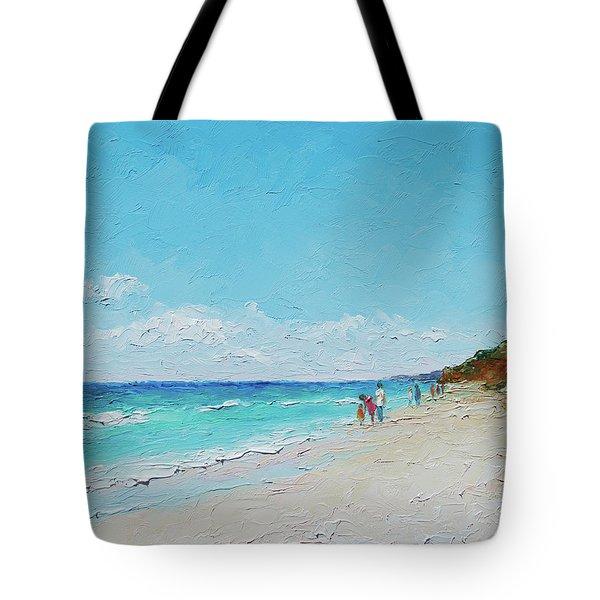Ditch Plains Beach Montauk Hamptons Ny Tote Bag