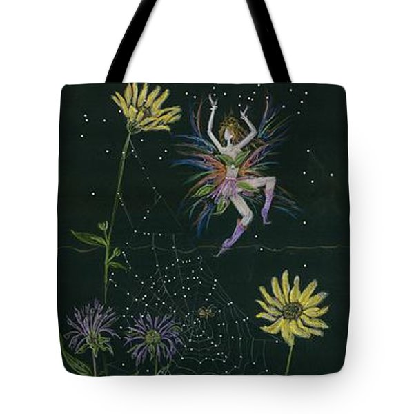 Ditchweed Fairy Wild Rose Tote Bag