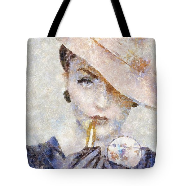 Diva Drama Tote Bag by Shirley Stalter