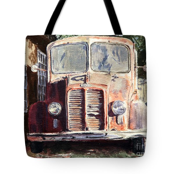 Divco Truck Tote Bag by Joey Agbayani