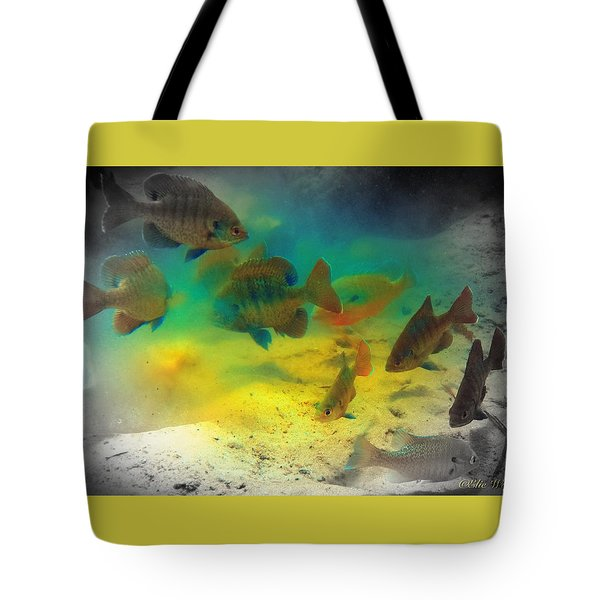 Dive Buddies Tote Bag