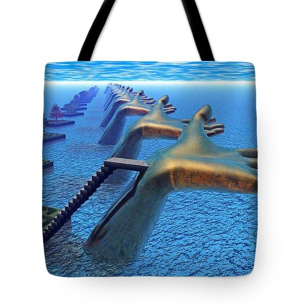 Dive Into The Imagination Tote Bag