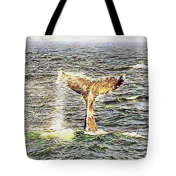 Dive Time Tote Bag
