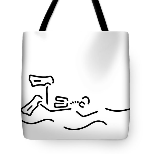 Divers Dip Oxygen Tote Bag