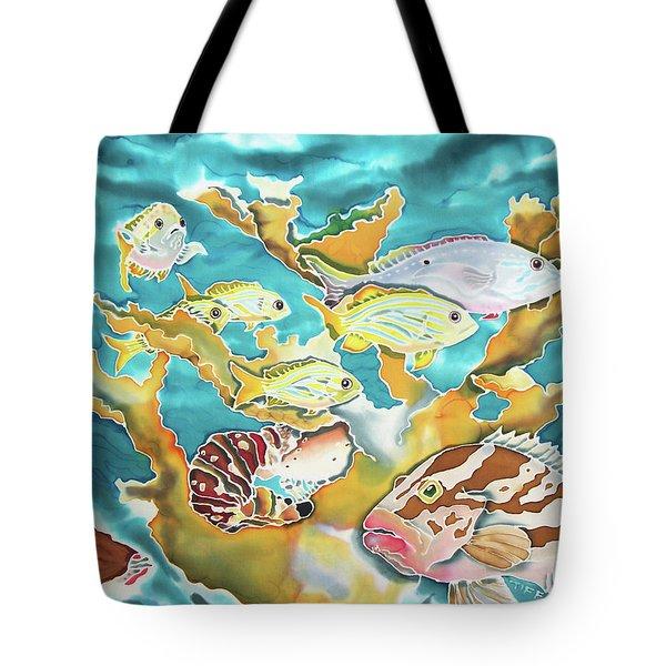 Divers Wet Dream Tote Bag