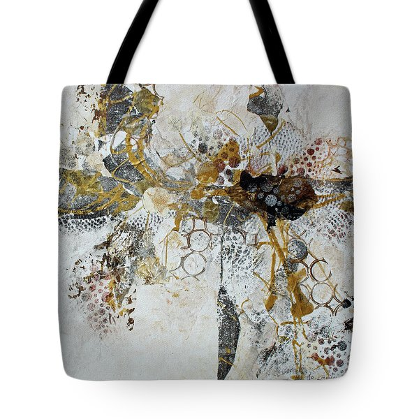 Tote Bag featuring the painting Diversity by Joanne Smoley