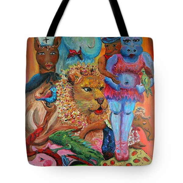 Diversity Tote Bag by Nadine Rippelmeyer