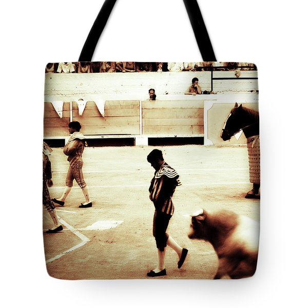 Tote Bag featuring the photograph Arles by Lucian Capellaro