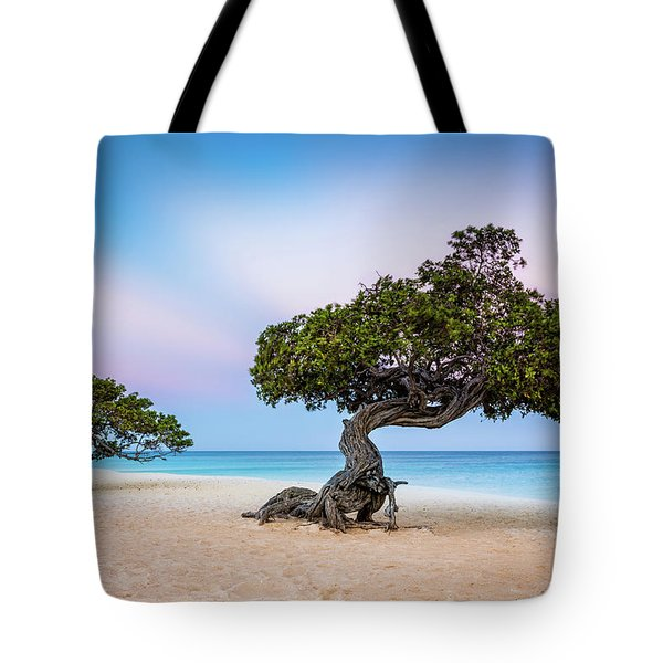 Tote Bag featuring the photograph Divi-divi Divi-divi by Mihai Andritoiu