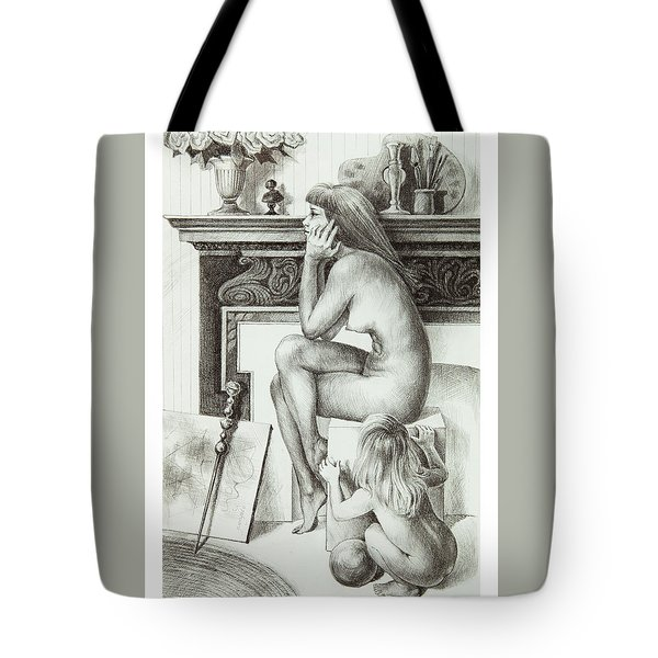 Divided Loyalties Tote Bag by Yvonne Wright