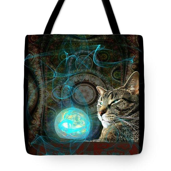 Tote Bag featuring the digital art Divination by Anastasiya Malakhova