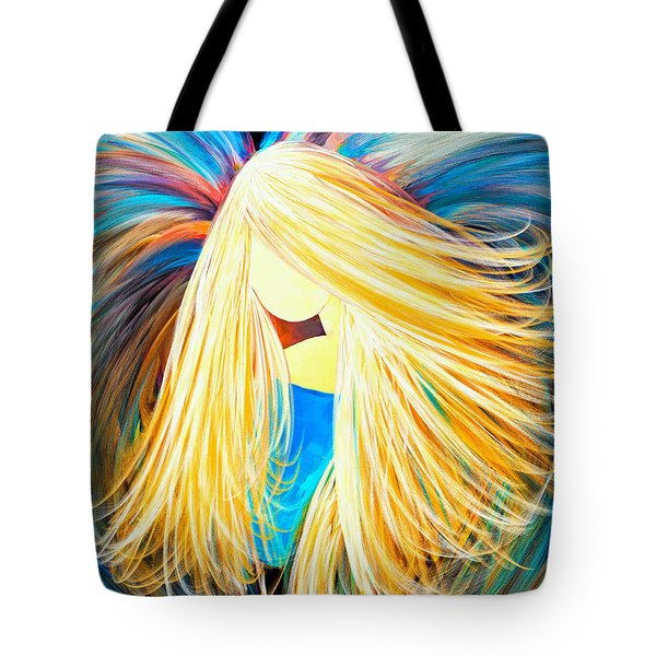 Divine Angel Tote Bag