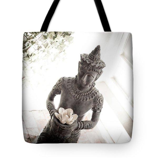 Divine Back Light Tote Bag
