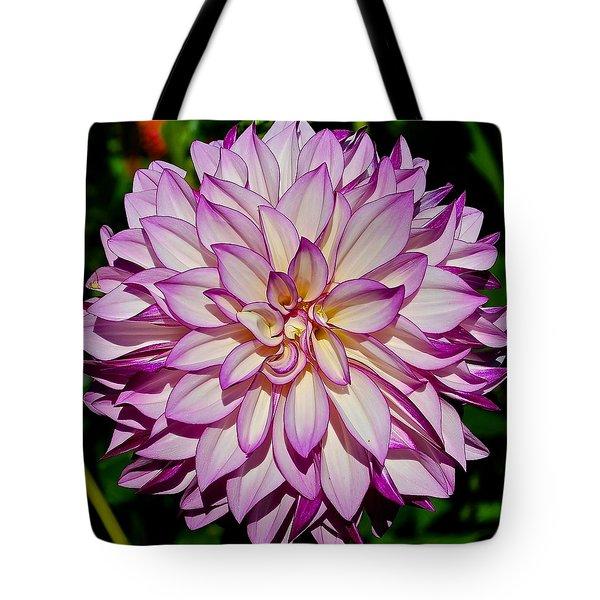 Divine Dahlia Blessings  Tote Bag