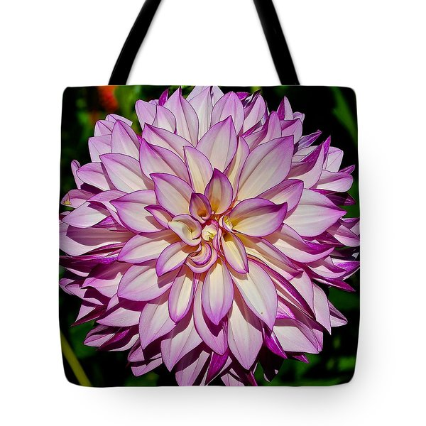 Divine Dahlia Blessings  Tote Bag