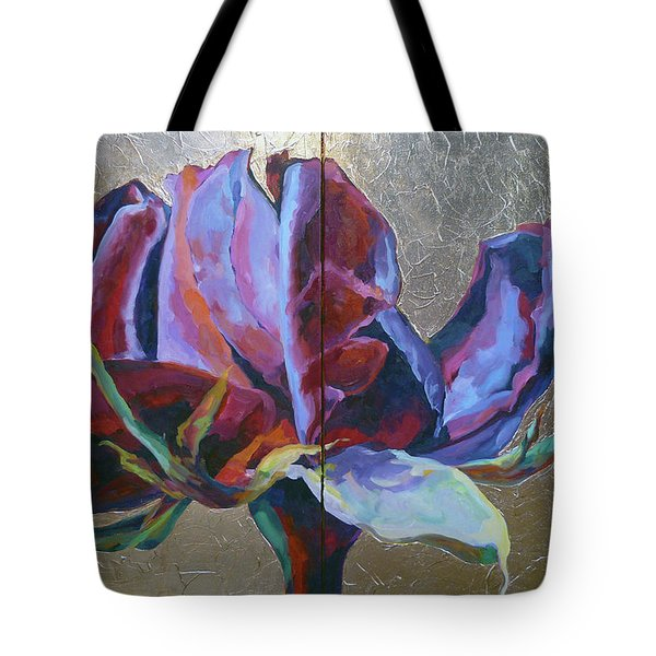 Tote Bag featuring the painting Divine by Eva Konya