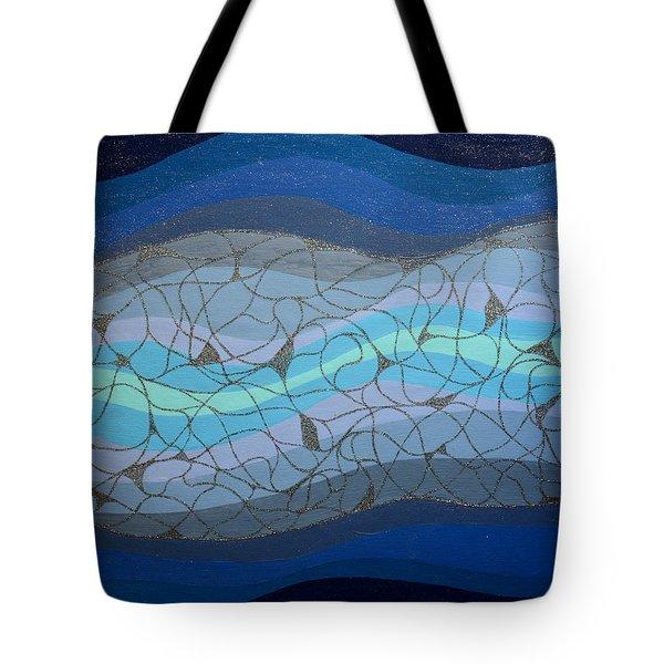Divine Flow Tote Bag