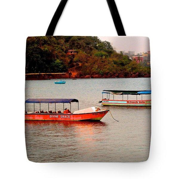 Divine Grace Tote Bag