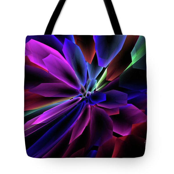 Tote Bag featuring the digital art Divine Intervention by Margie Chapman