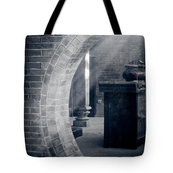 Divine Light Tote Bag by Loriental Photography