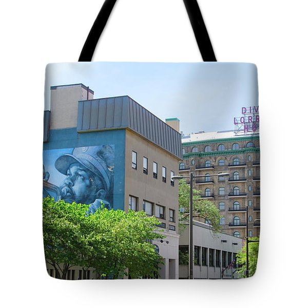 Divine Lorraine - Salvation Tote Bag by Bill Cannon