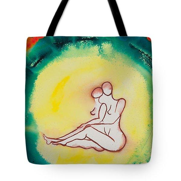 Divine Love Series No. 2086 Tote Bag