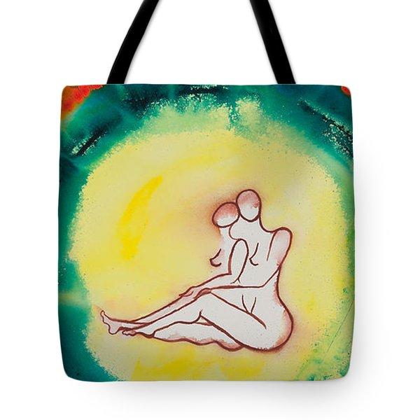 Divine Love Series No. 2086 Tote Bag by Ilisa Millermoon