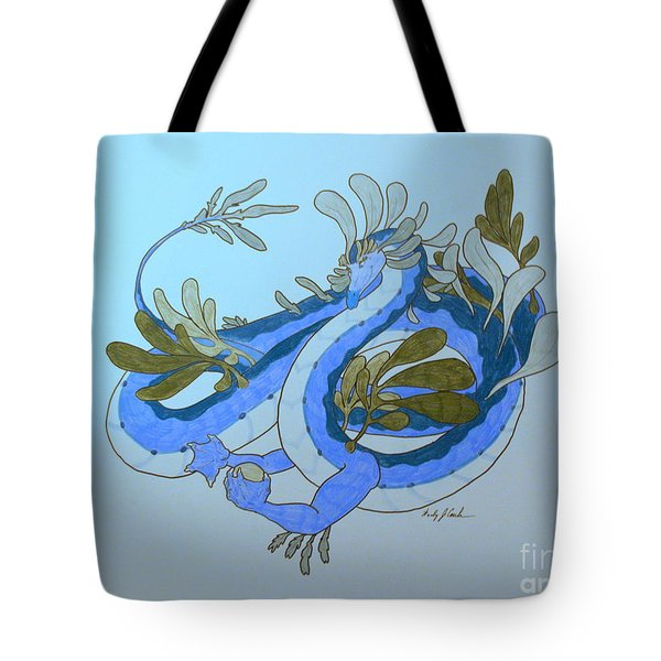 Divine Lung- Water Tote Bag by Wendy Coulson