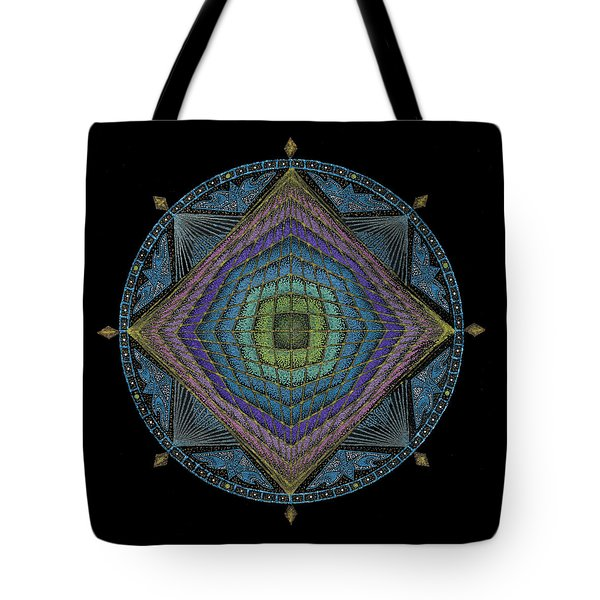 Tote Bag featuring the painting Divine Masculine Energy by Keiko Katsuta
