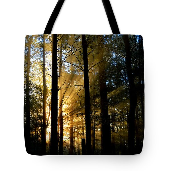 Divine Rays Of Sunshine Tote Bag