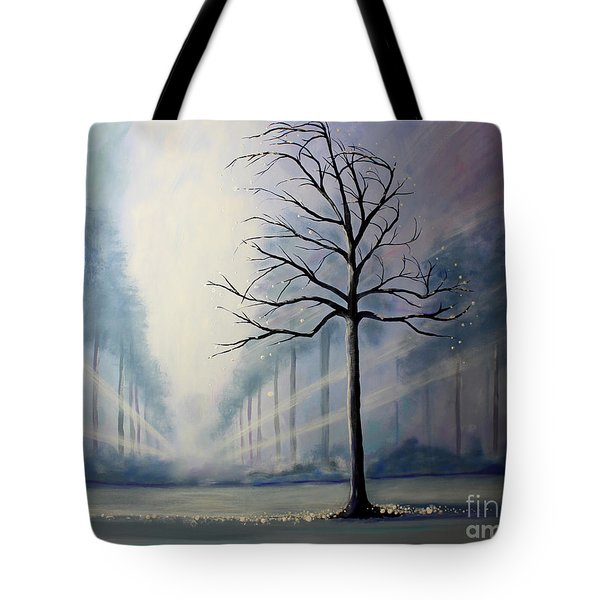 Divine Serenity Tote Bag by Stacey Zimmerman