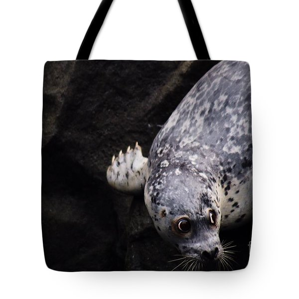 Tote Bag featuring the photograph Diving In Head First by Nick Gustafson