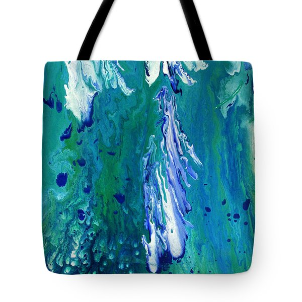 Diving To The Depths Tote Bag