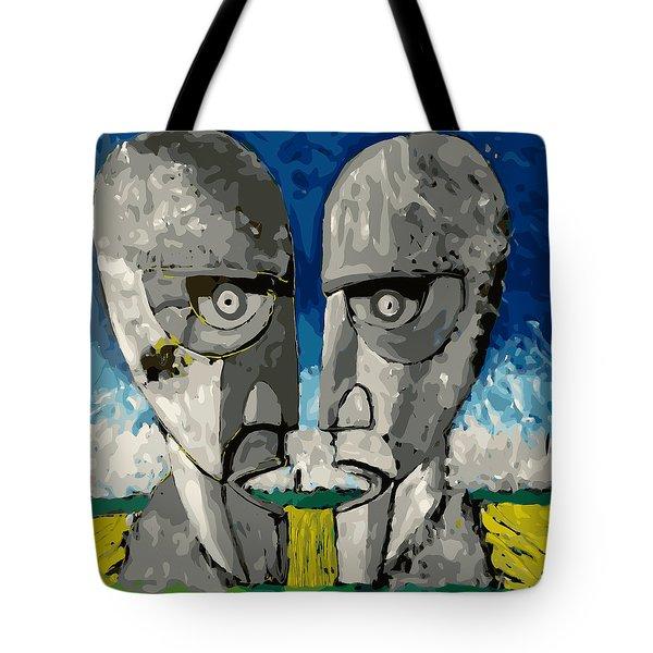 Division Bell Tote Bag