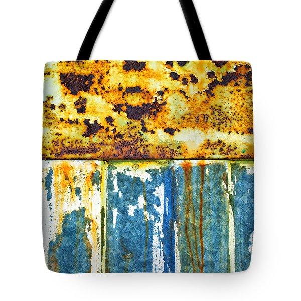 Division Tote Bag by Silvia Ganora