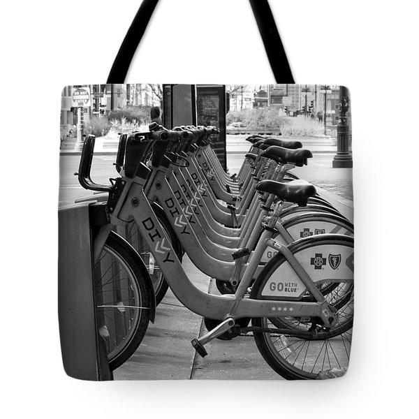 Divvy Bikes Tote Bag