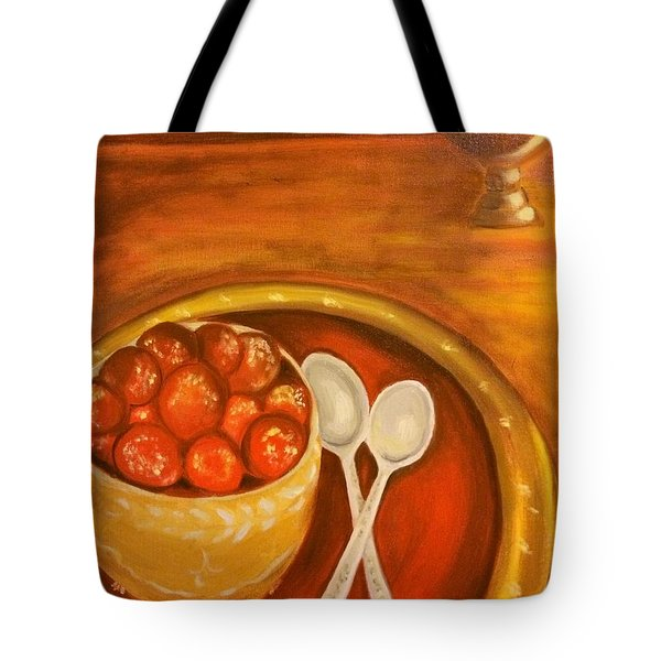 Diwali Sweets Tote Bag by Brindha Naveen