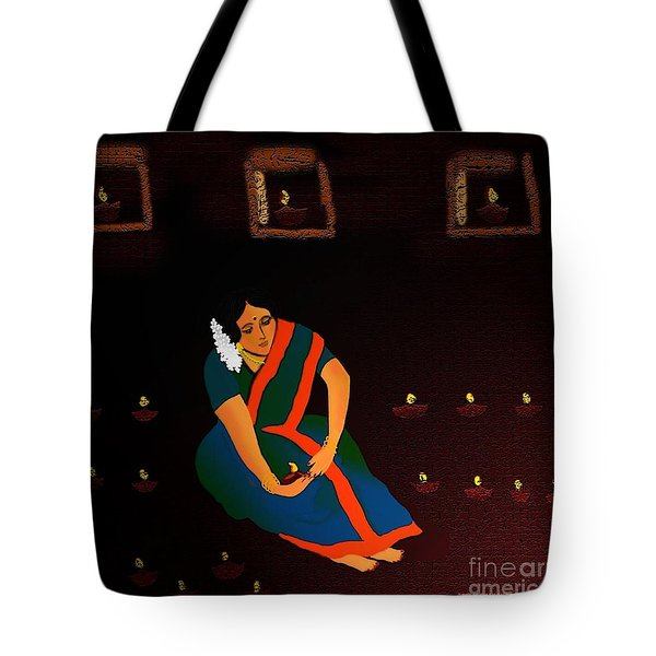 Diwali-the Night Of Diyas Tote Bag
