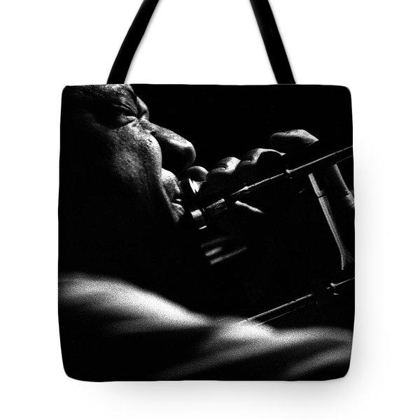 Dixieland Trombone New Orleans Tote Bag