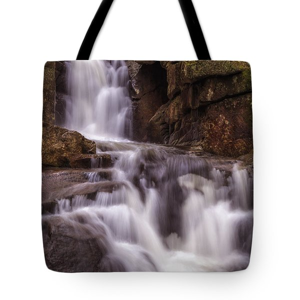 Dixville Notch Falls-baby Flume Tote Bag
