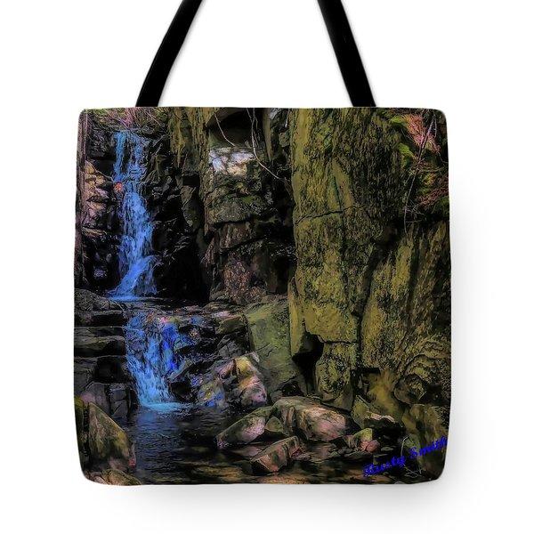 Dixville Notch Flume Brook Tote Bag