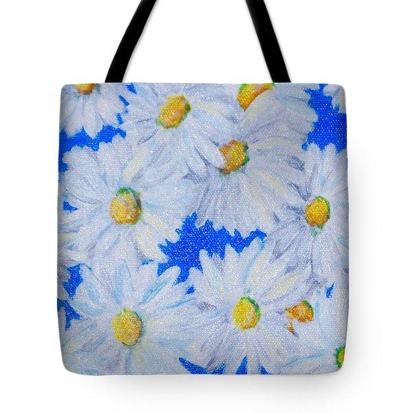 Dizzy Daisies Tote Bag