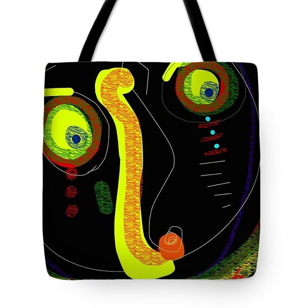 Dizzy Gillespie Cheek To Cheek Tote Bag