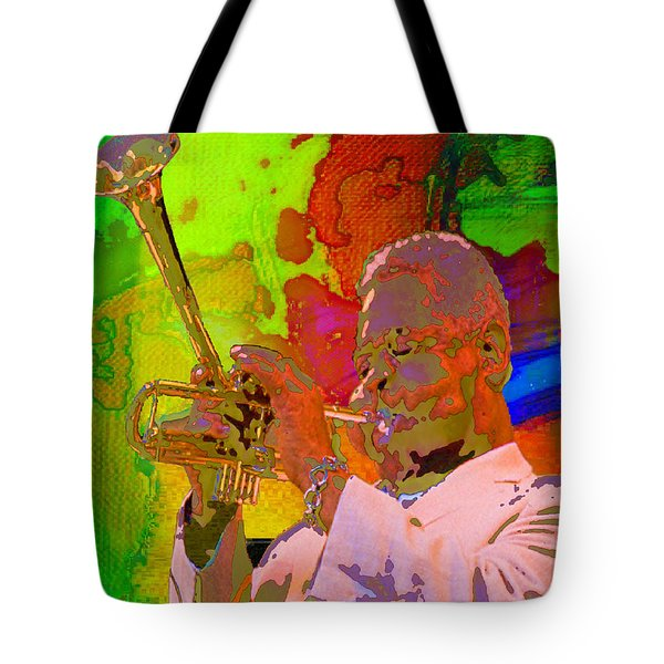 Dizzy Tote Bag by Mojo Mendiola
