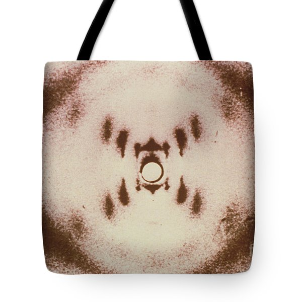 Dna X-ray Tote Bag by Science Source