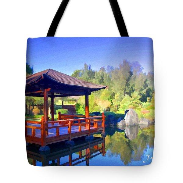 Do-00003 Shinden Style Pavilion Tote Bag